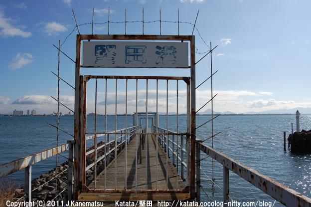 琵琶湖と堅田港