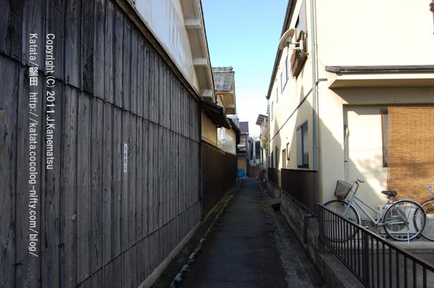 堅田の路地