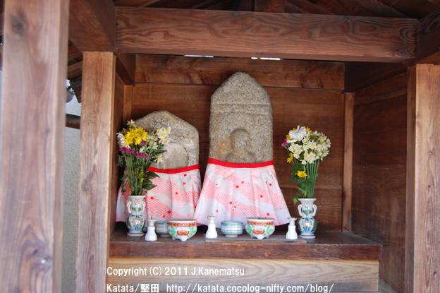 神田神社前の地蔵
