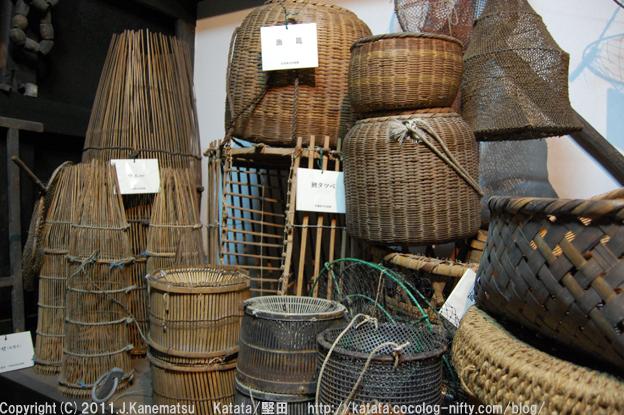 琵琶湖の漁具