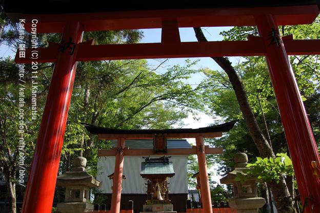 神田神社のお稲荷さん