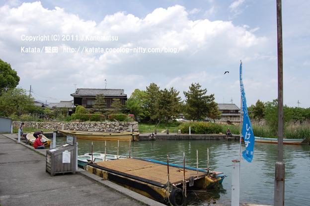 琵琶湖のほとり、5月の水辺の家その2