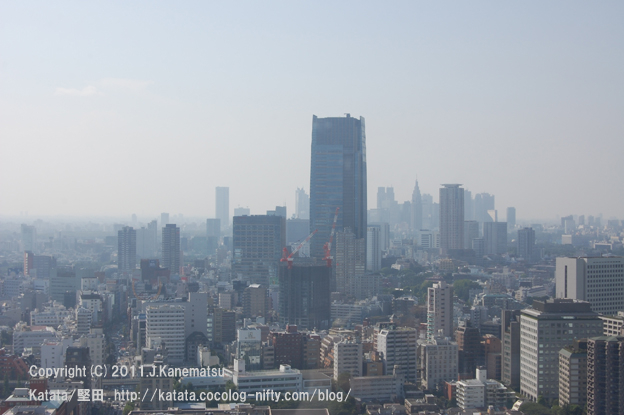 東京ミッドタウンと新宿副都心
