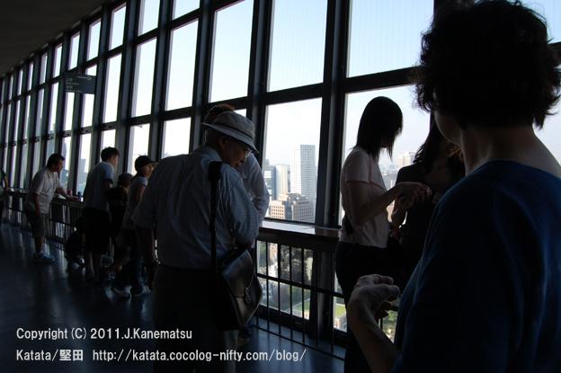 東京タワー大展望台にて