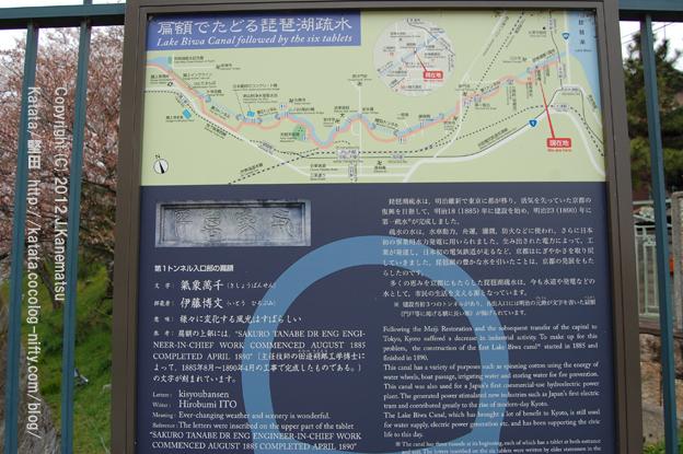 琵琶湖疏水 案内板1