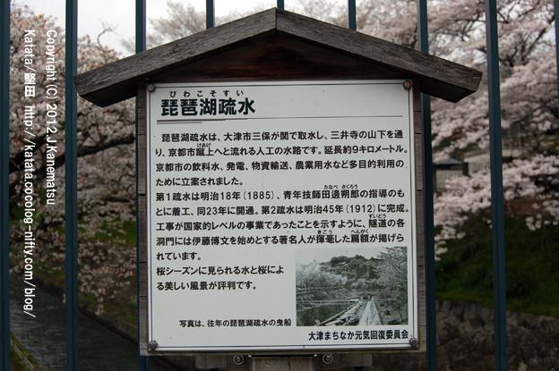 琵琶湖疏水 案内板2