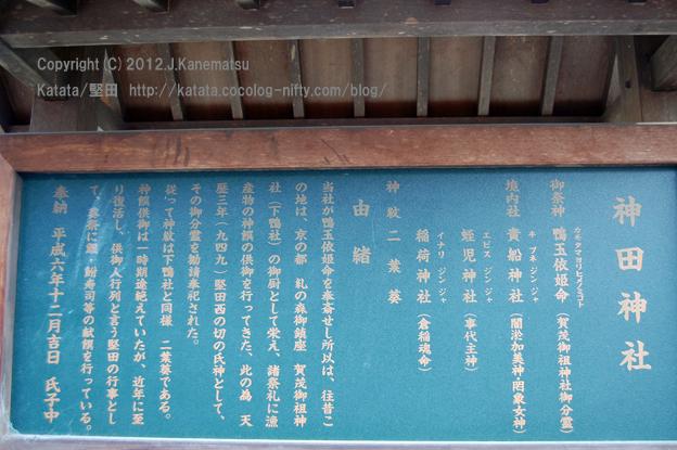 神田神社の静かな朝4・神社由来
