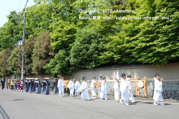 下鴨神社巡行2・堅田から来た一行