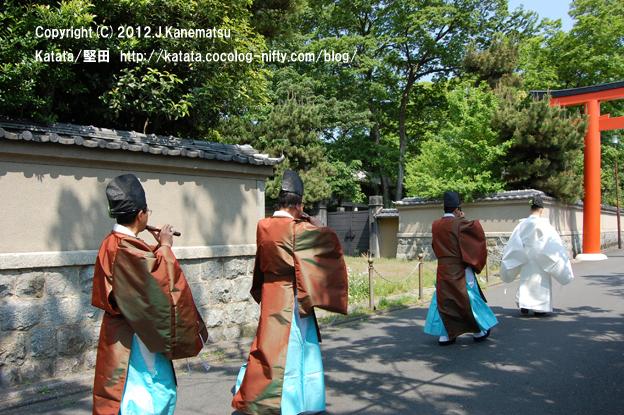下鴨神社巡行3・神職の先導