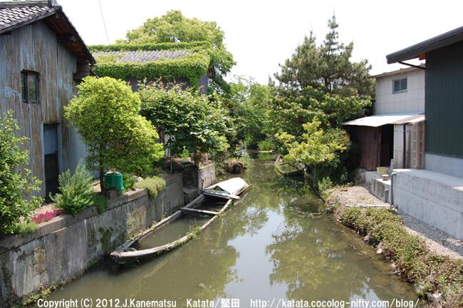 琵琶湖のラグーン(潟湖)、堅田内湖1