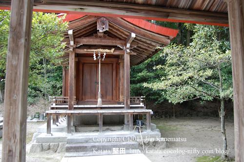 鞍掛神社の本殿