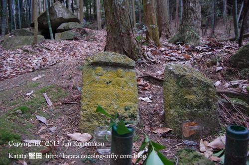 百穴古墳群と石仏