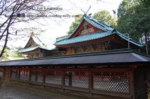 日吉東照宮社殿