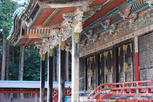 日吉東照宮拝殿