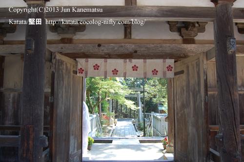大野神社楼門(裏側)