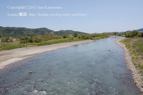 野洲川(中郡橋で撮影)
