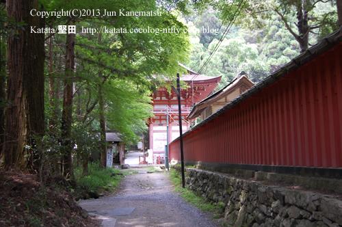 日吉大社東本宮と、山の辺の道