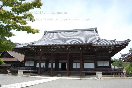 西教寺の本堂
