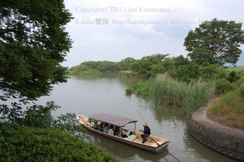水郷めぐりの和船(西の湖)-2