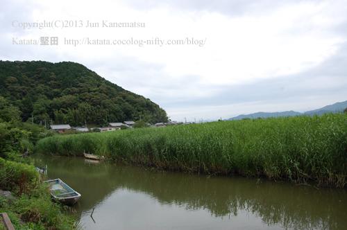 水郷の風景(近江八幡市円山町)-2