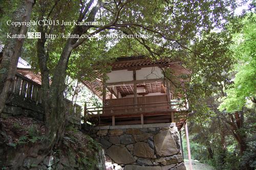 圓山神社拝殿(近江八幡市円山町)