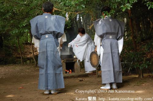 巫女さんによる神事-2(鞍掛神社例祭)