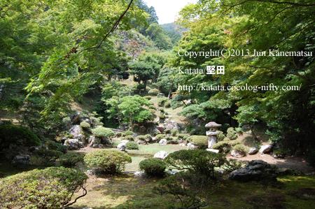 徳源院の庭園(池泉回遊式庭園)