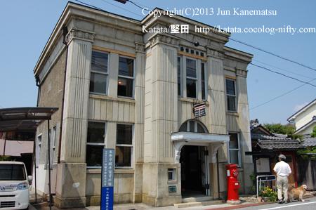 旧醒井郵便局局舎(滋賀県米原市醒井)