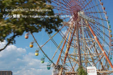 夏の日、近くで見る観覧車(イーゴス108)
