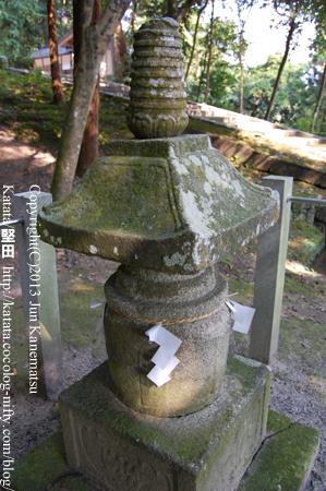 小野小町の塔(小野神社)
