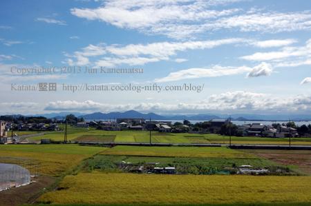JR湖西線の車窓から(小野~和邇)