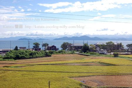 JR湖西線の車窓から(和邇~蓬莱)