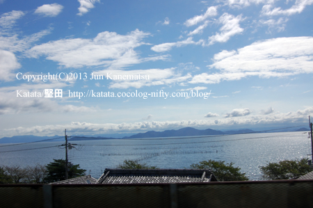 JR湖西線の車窓から(蓬莱~志賀)