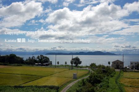 JR湖西線の車窓から(近江舞子~北小松)