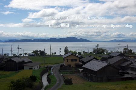 JR湖西線の車窓から(北小松~近江高島-2)
