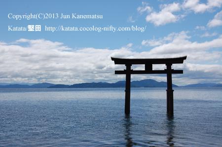 白鬚神社と琵琶湖-2