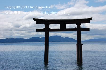 白鬚神社と琵琶湖-3