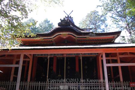 飯道神社本殿-3(甲賀市水口町三大寺)