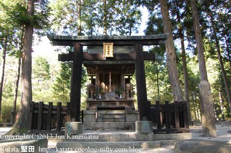 紫香楽宮跡「内裏野地区」の神社(甲賀市信楽町黄瀬)