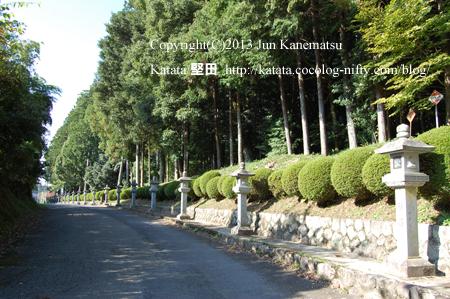 油日神社の脇参道