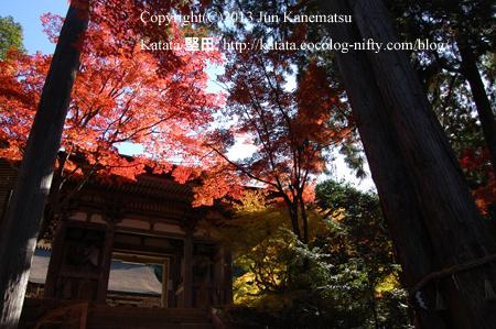 西明寺の二天門