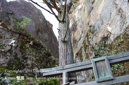太郎坊宮の夫婦岩